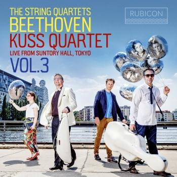 Cover Beethoven: The String Quartets, Live from Suntory Hall, Tokyo, Vol. 3