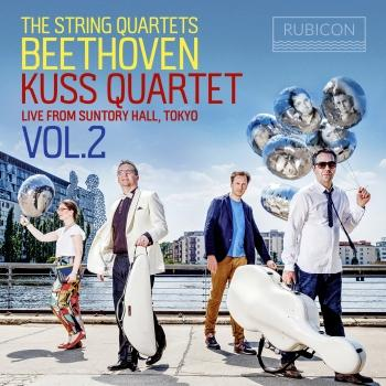 Cover Beethoven: The String Quartets, Live from Suntory Hall, Tokyo, Vol. 2
