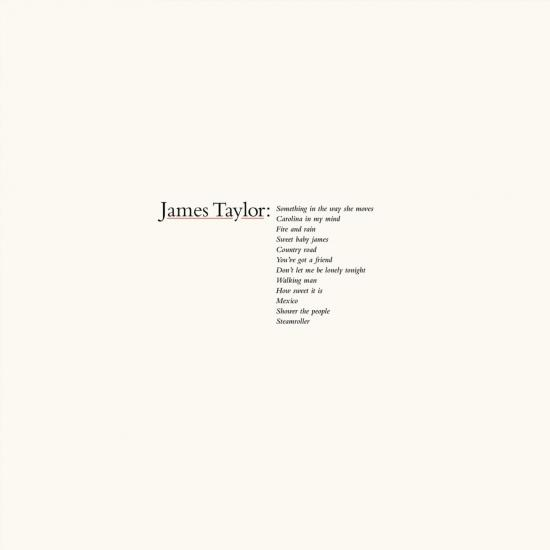 Cover James Taylor's Greatest Hits (2019 Remaster)