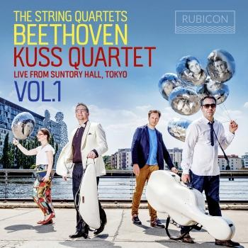 Cover Beethoven: The String Quartets, Live from Suntory Hall, Tokyo, Vol. 1
