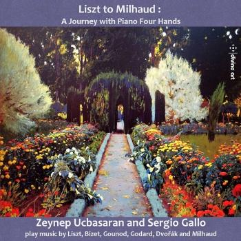 Cover Liszt to Milhaud: A Journey with Piano 4 Hands