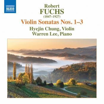 Cover Fuchs: Violin Sonatas Nos. 1-3