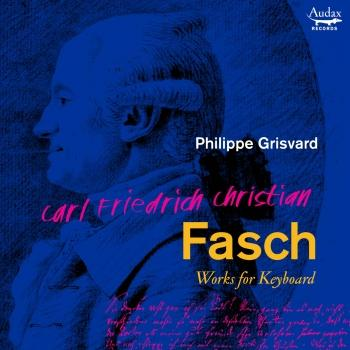 Cover C.F.C. Fasch: Works for keybard