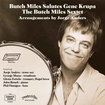 Cover Butch Miles Salutes Gene Krupa