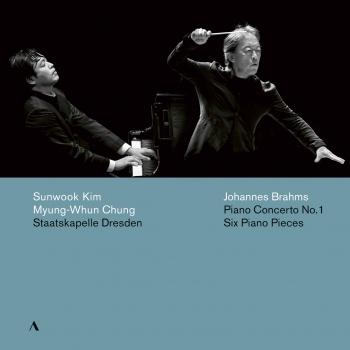 Cover Brahms: Piano Concerto No. 1 in D Minor, Op. 15 & 6 Piano Pieces, Op. 118