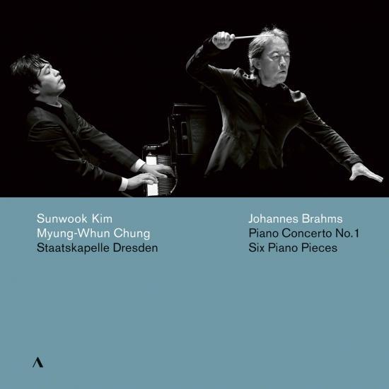 Cover Brahms: Piano Concerto No. 1 in D Minor, Op. 15 & 6 Piano Pieces, Op. 118