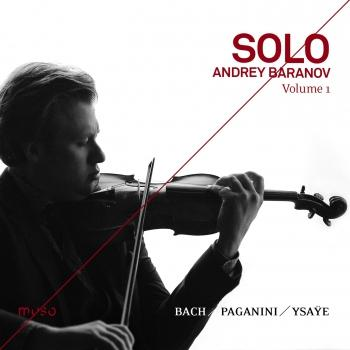 Cover Solo [Bach, Paganini, Ysaÿe], Volume. 1