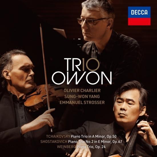 Cover Tchaikovsky, Shostakovich and Weinberg Piano Trios