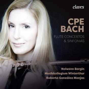 Cover CPE Bach: Flute Concertos & Sinfonias