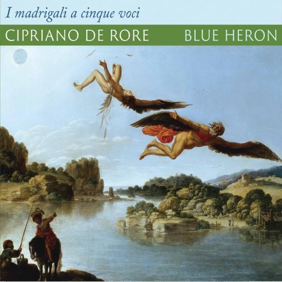 Cover Rore: Madrigali a 5 voci (1542 Version)