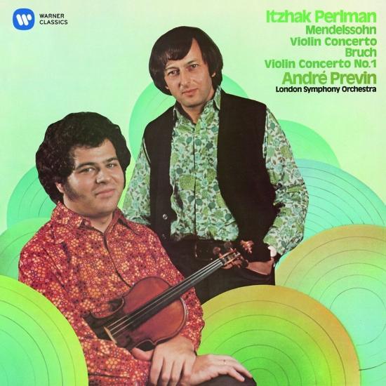 Cover Mendelssohn: Violin Concerto No. 2 - Bruch: Violin Concerto No. 1