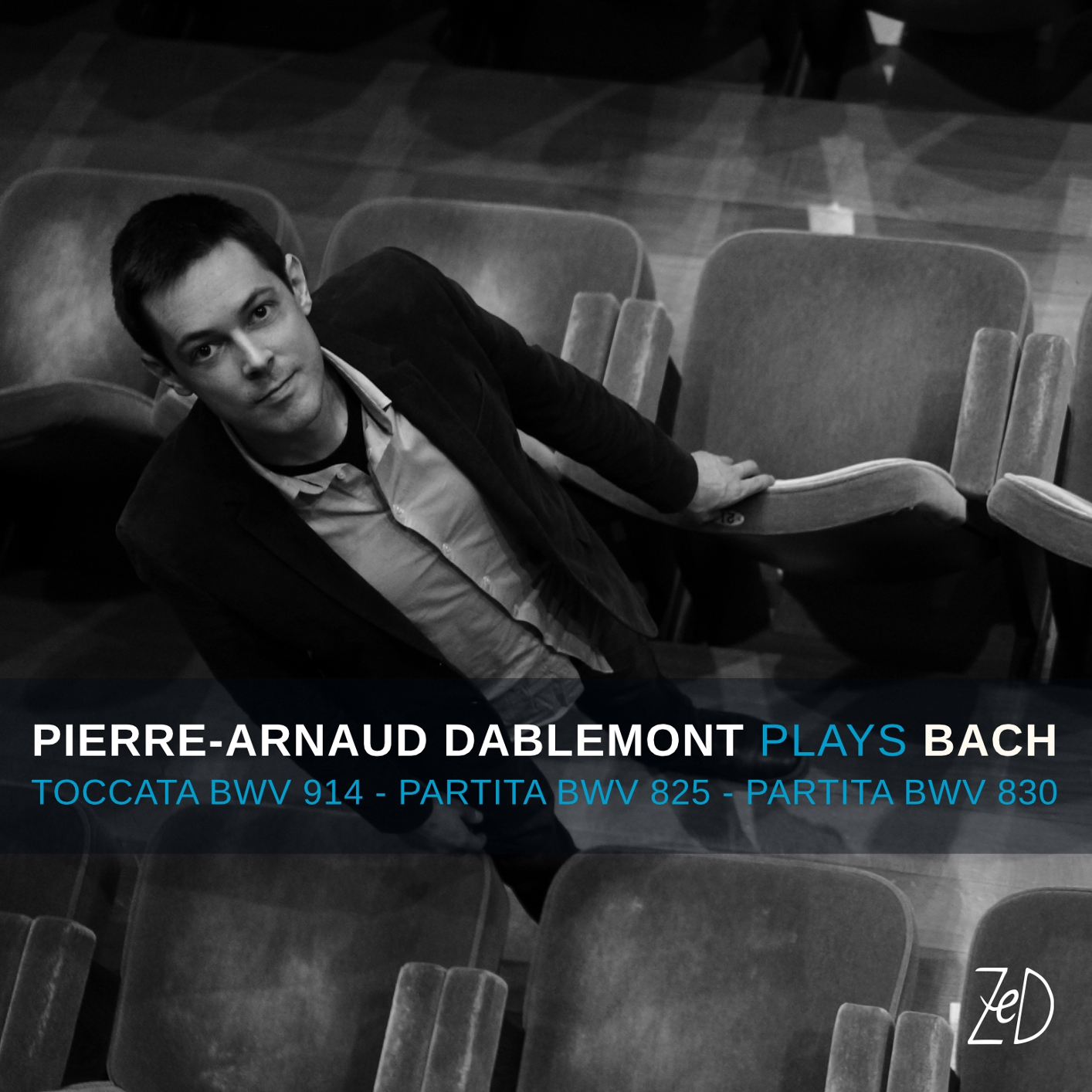 Cover Pierre-Arnaud Dablemont: Plays Bach