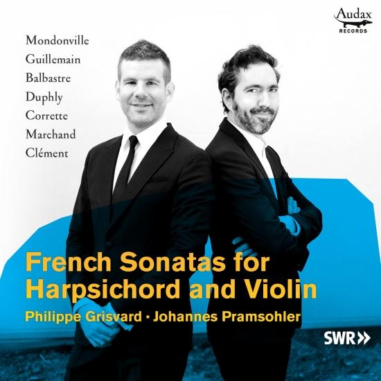 Cover French Sonatas for Harpsichord and Violin