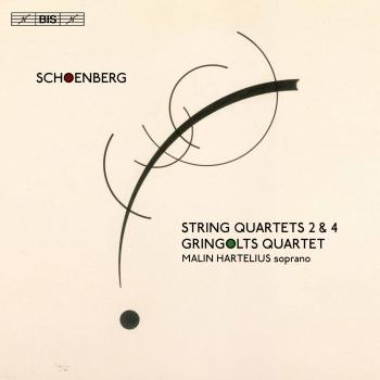 Cover Schoenberg: String Quartets Nos. 2 & 4