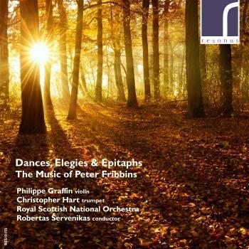 Cover Dances, Elegies & Epitaphs: The Music of Peter Fribbins