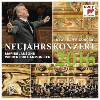 Cover Neujahrskonzert 2016 / New Year's Concert 2016