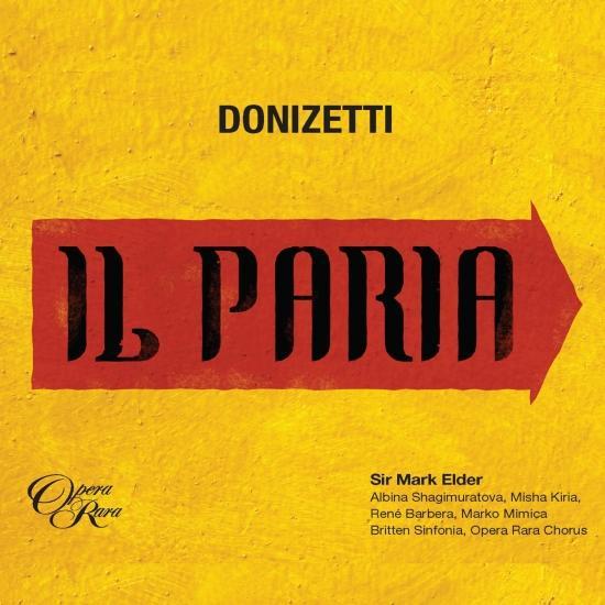 Cover Donizetti: Il Paria