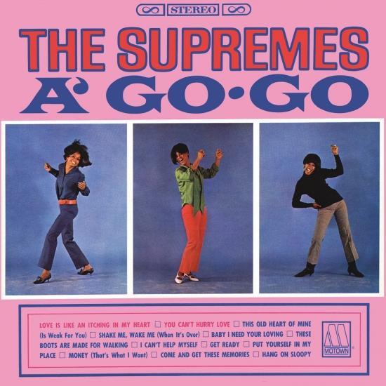 Cover Supremes A' Go-Go (Remaster)