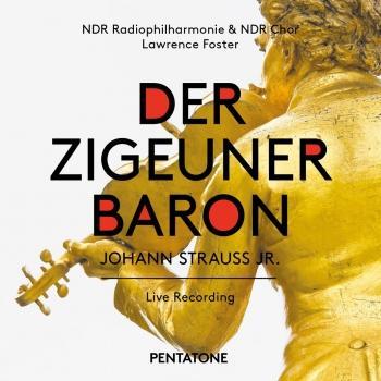 Cover J. Strauss II: Der Zigeunerbaron (Live)