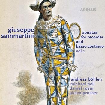 Cover Giuseppe Sammartini: Sonatas for Recorder and Basso continuo, Vol.1