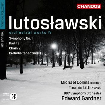 Cover Lutoslawski Orchestral Works IV