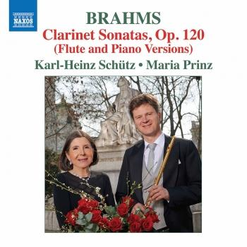 Cover Brahms: Works (Arr. K.H. Schütz for Flute & Piano)