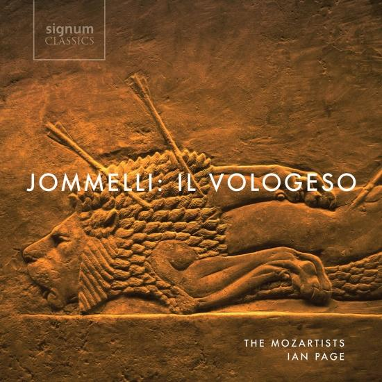 Cover Jommelli: Il Vologeso