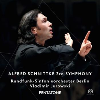 Cover Alfred Schnittke: 3rd Symphony