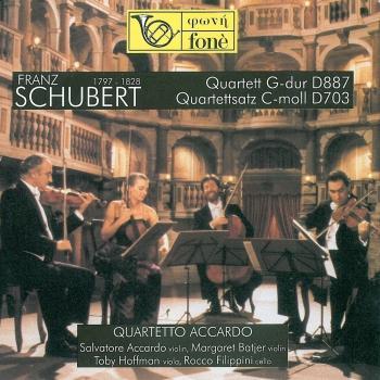 Cover Franz Schubert: Quartett G-Dur D 887 – Quartettsatz C-moll D 703 (Remastered)