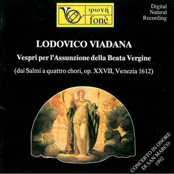 Cover Lodovico Viadana: Vespri Per L'Assunzione Della Beata Vergine (Remastered)