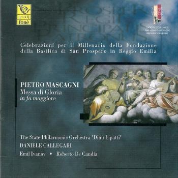 Cover Pietro Mascagni - Messa Di Gloria In Fa Maggiore (Remastered)