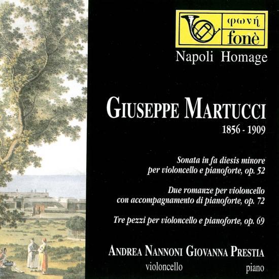 Cover Giuseppe Martucci (Remastered)
