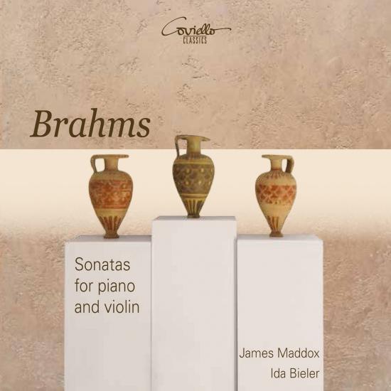 Cover Brahms: Violin Sonatas Nos. 1 - 3