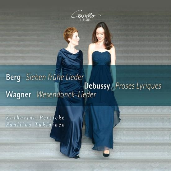 Cover Berg Sieben frühe Lieder - Debussy Proses Lyriques - Wagner Wesendonck-Lieder