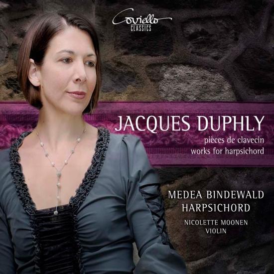 Cover Jacques Duphly: pièces de clavecin