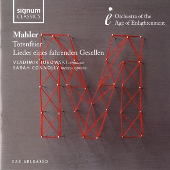 Cover Mahler: Totenfeier - Lieder eines fahrenden Gesellen