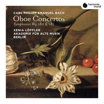 Cover C.P.E. Bach: Oboe Concertos