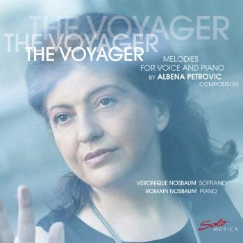 Cover The Voyager - Melodies for Voice and Piano by Albena Petrovic