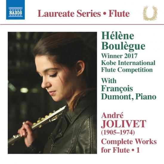 Cover Jolivet: Complete Works for Flute, Vol. 1