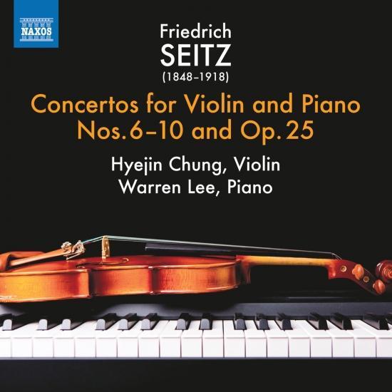 Cover Seitz: Violin Concertos, Vol. 2