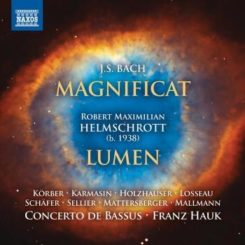 Cover J.S. Bach: Magnificat, BWV 243 - Helmschrott: Lumen
