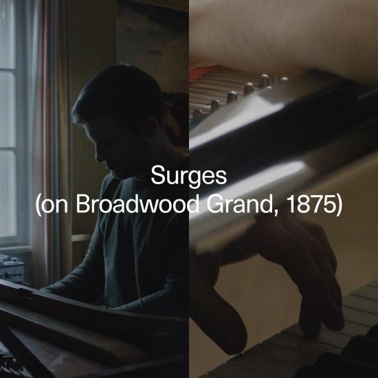 Cover Surges (on Broadwood Grand, 1875)