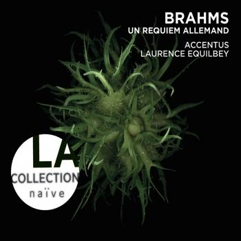 Cover Brahms: Ein Deutsches Requiem, Op. 45 (London version with Piano)