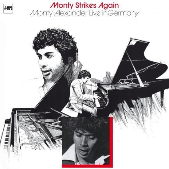 Cover Monty Alexander - Monty Strikes Again