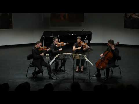 Video Quatuor Ebène - Ludwig van Beethoven String Quartet 59/3 (4th movement)