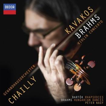 Cover Brahms: Violin Concerto; Hungarian Dances / Bartók: Rhapsodies