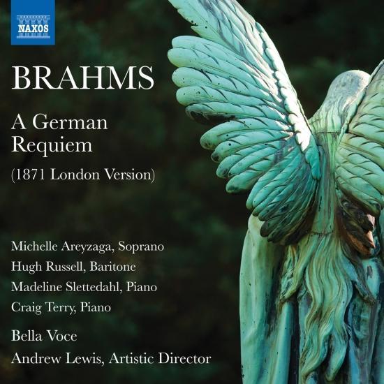 Cover Brahms: A German Requiem, Op. 45 (London Version)