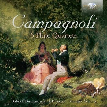 Cover Campagnoli: 6 Flute Quartets