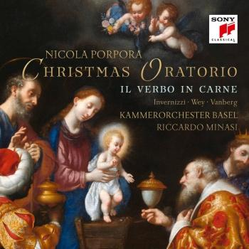 Cover Porpora: Il verbo in carne (Christmas Oratorio)