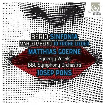 Cover Berio: Sinfonia - Berio & Mahler: Frühe Lieder